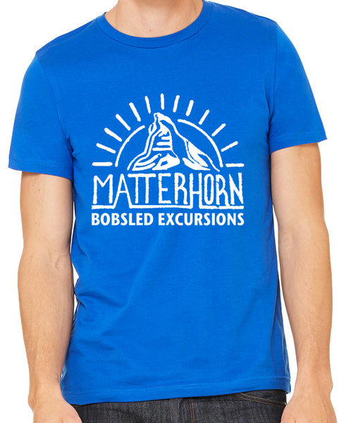 Matterhorn Bobsled Excursions Unisex Tee