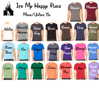 My Happy Place Unisex Tee