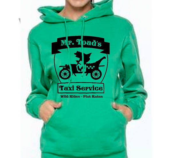 Mr Toad's Taxi Service Unisex Hoodie