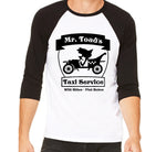 Mr Toad's Taxi Service Baseball Shirt