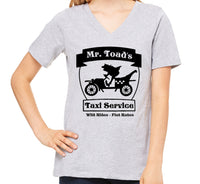 Mr Toads Taxi Service Women's V-Neck