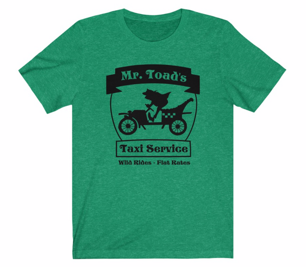 Mr Toad's Taxi Service Unisex Tee