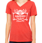 Gaston's Tap Room  Women's V-Neck