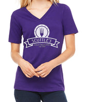 Scuttles  Women's V-Neck