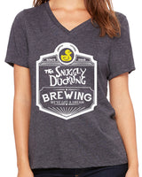 Snuggly Duckling Brewing  Women's V-Neck