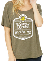 Snuggly Duckling Brewing Co. Womens slouchy