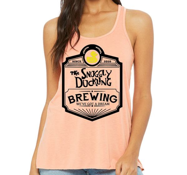 Snuggly Duckling Racerback Tank