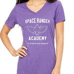 Space Ranger Academy  Women's V-Neck