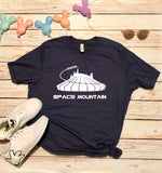 Space Mountain Unisex Tee