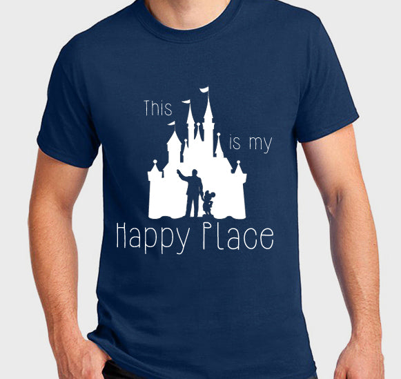 This is my Happy Place Unisex Tee