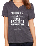Jungle Cruise Quote  Women's V-Neck
