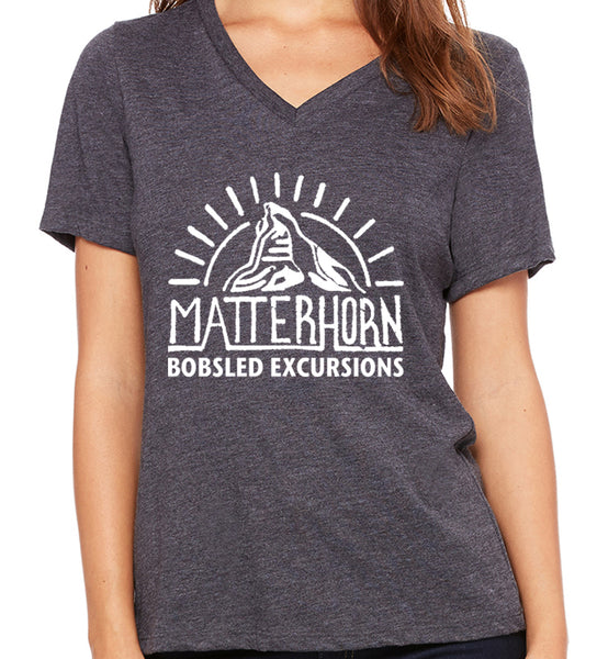 Matterhorn Bobsled Excursions  Women's V-Neck
