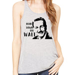Turn down for Walt  Racerback Tank