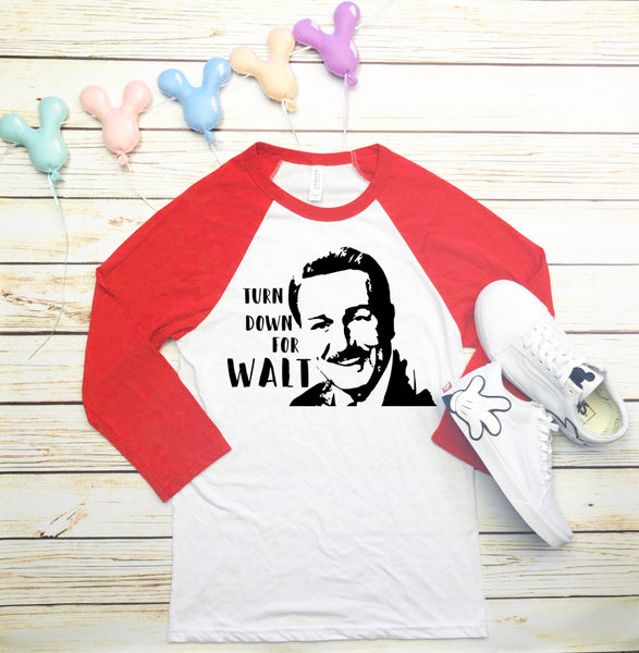 Turn down for Walt Baseball Shirt