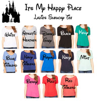 Women's Slouchy Partners Disneyland Castle