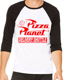 Pizza Planet Unisex Baseball