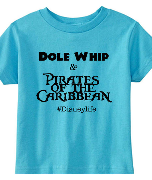 Dole Whip and Pirates the Caribbean