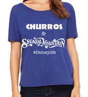 Women's Slouchy Churros & Splash Mountain
