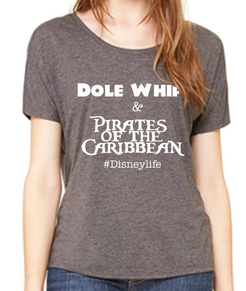 Women's Slouchy Dole Whip and Pirates of the Caribbean