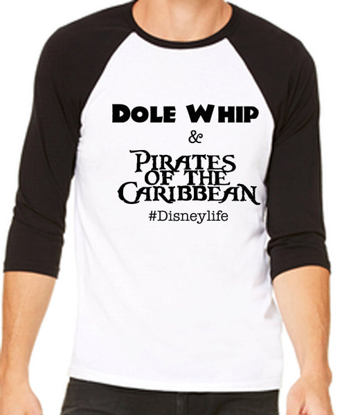 Dole Whip and Pirates of the Caribbean Unisex Baseball