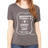Women's Slouchy Woodys Cowboy Camp