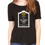 Women's Slouchy RIP Hollywood Tower of Terror Hotel
