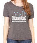 Women's Slouchy Retro Disneyland Sign