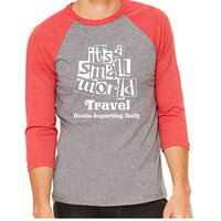 Its a Small World Travel Unisex Baseball