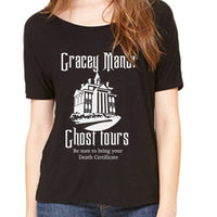 Women's Slouchy Gracey Manor Ghost Tours