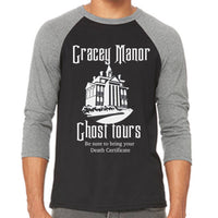 Gracey Manor Ghost Tours Unisex Baseball