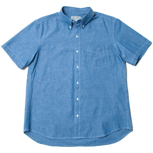 "Button Down Shirts ""Blue Chambray"" / Made in Hawaii U.S.A."