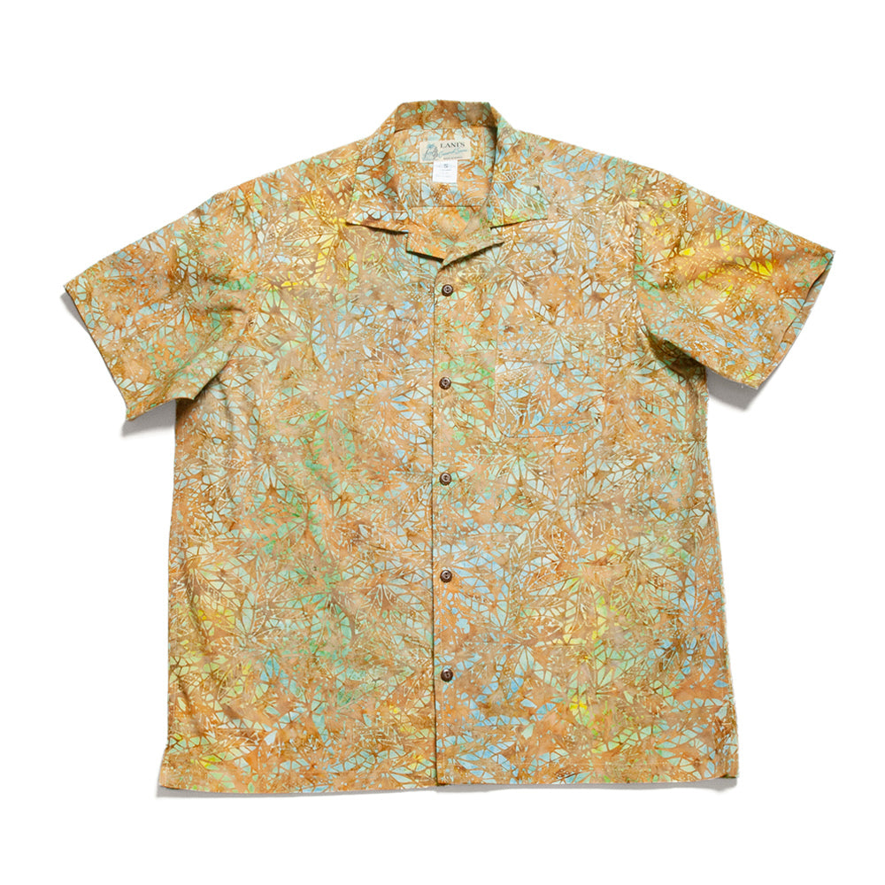 Cotton Batik Shirts / Made in Hawaii U.S.A.