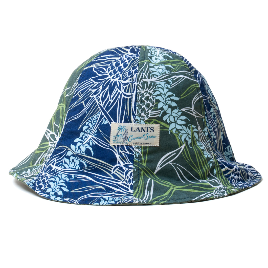 Reversible Tulip Hat / Ripstop / Made in Hawaii U.S.A.