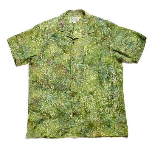 Rayon Batik Shirts / Made in Hawaii U.S.A.
