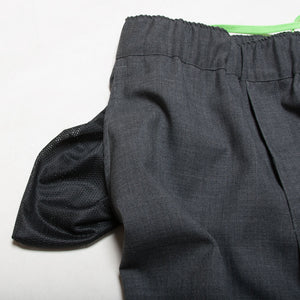 "Tropical Wool Easy Pants ""Gray"" / Made in U.S.A."