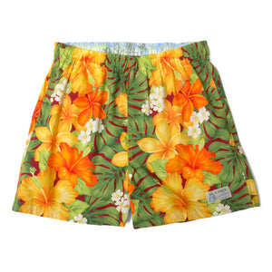 "Aloha Boxer Shorts ""Hibiscus"" / Made in Hawaii U.S.A."