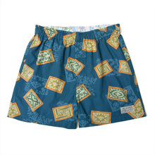 "Aloha Boxer Shorts ""Royal Hawaii Blue"" / Made in Hawaii U.S.A."