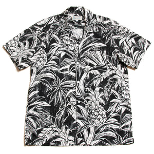 "Cotton Aloha Shirts ""Pineapple"" / Made in Hawaii U.S.A."