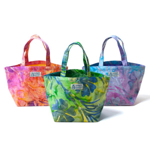 Batik mini Tote Bags / Made in Hawaii U.S.A.