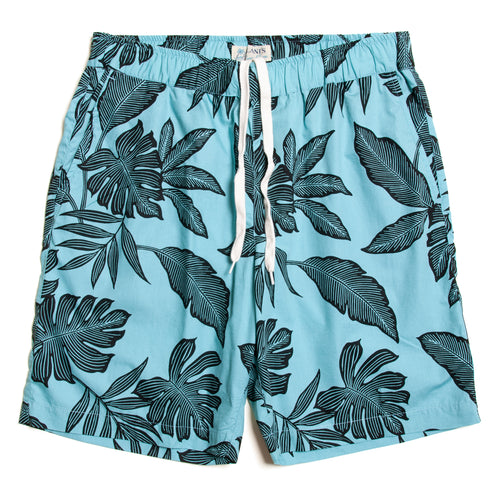 Cotton Aloha Walk Shorts