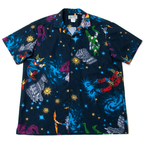 "Cotton Aloha Shirts ""Heroes"" / Made in Hawaii U.S.A."