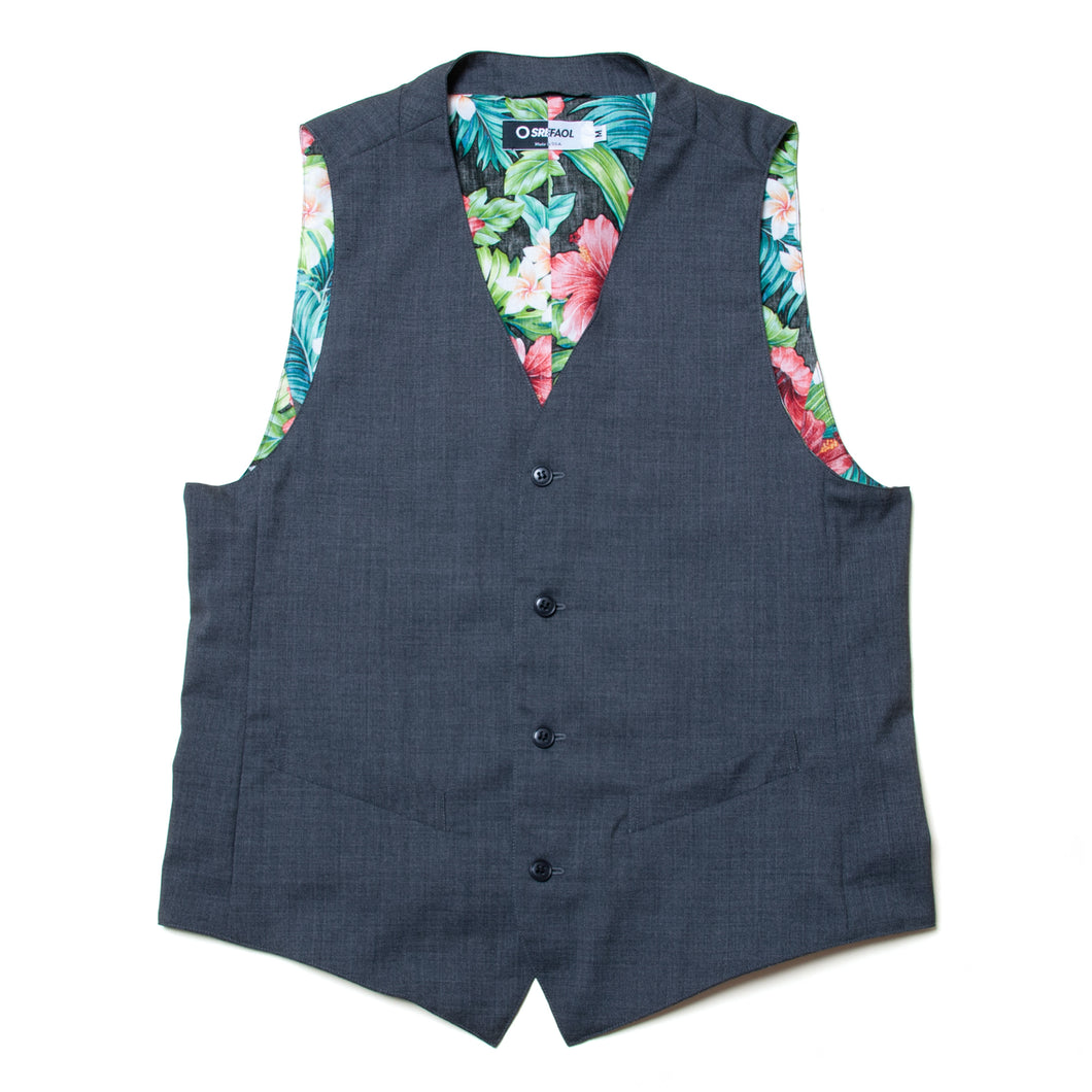 TROPICAL WOOL GILET