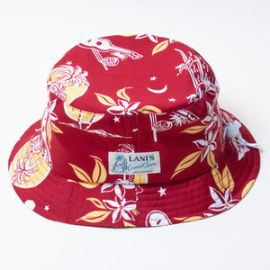 Moonlight Bucket Hat / Made in Hawaii U.S.A.