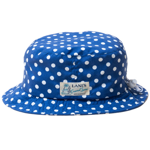 Polka Dot Bucket Hat / Made in Hawaii U.S.A.