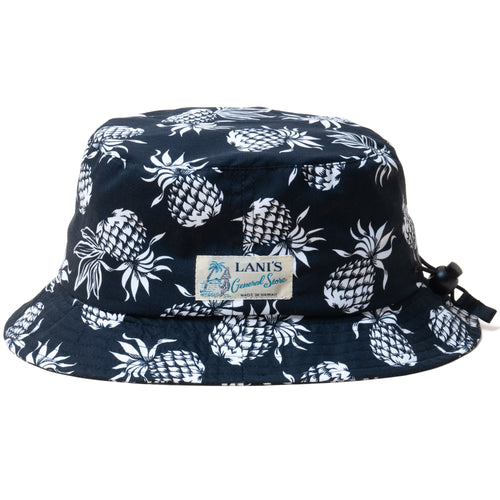 Pineapple Bucket Hat / Made in Hawaii U.S.A.