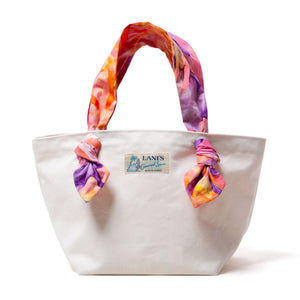 Batik Ribbon Tote Bag / Made in Hawaii U.S.A.