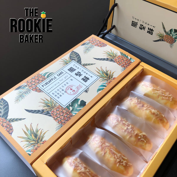 Cheesy Pineapple Tarts by the Rookie Baker