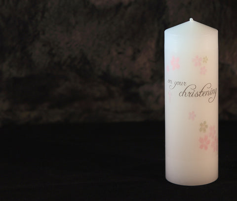 Christening Candles - Ready to Buy