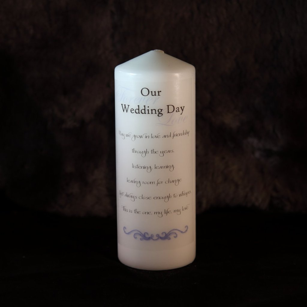 Wedding Unity Candle - Forever Love