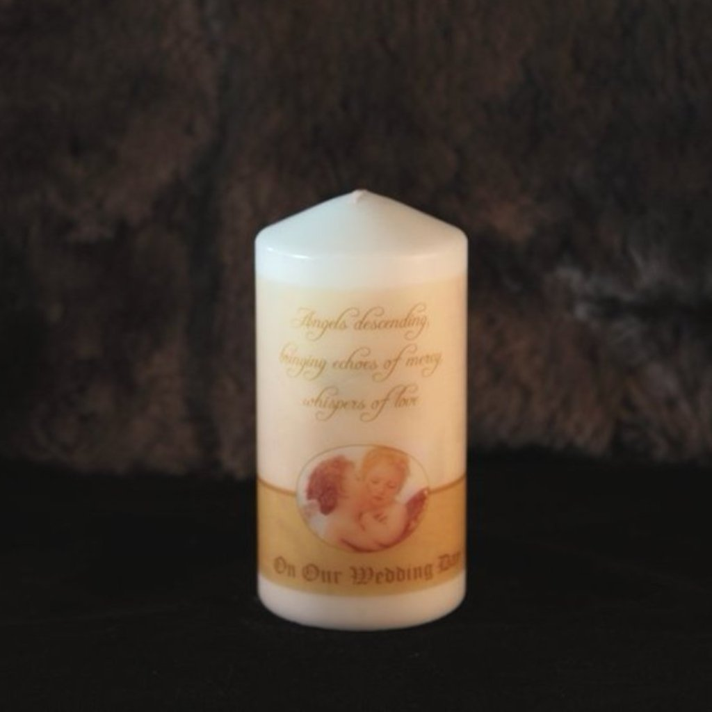 Wedding Unity Candle - Angels